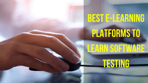 best e-learning platfoms to learn software testing with Selenium webdriver