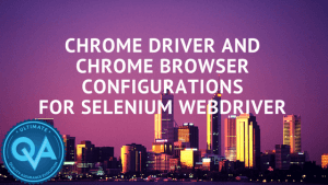 Chromedriver and chrome browser