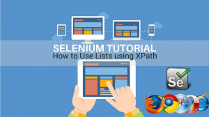 how to use lists using xpath