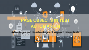 Advantages and disadvantages of keyword driven tests