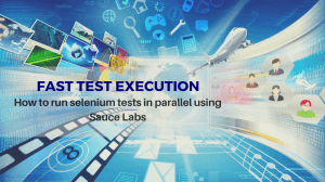 How to run selenium tests in parallel using sauce labs
