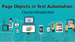 page objects course introduction