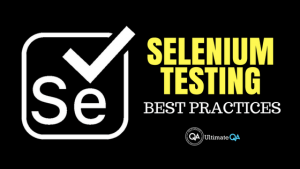 here are some selenium testing best practices for automation testers