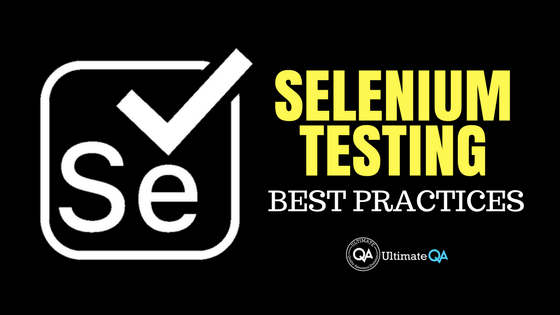 At last, the secret to an effective Selenium testing strategy is revealed!