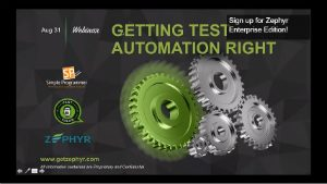 selenium webdriver resources -webinars -getting test automation right