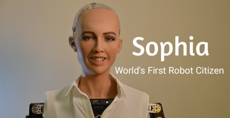 sophia as an example of software bot
