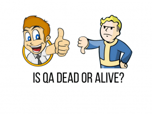thumbs up vs thumbs down about qa dead or alive