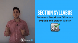 selenium webdriver implicit and explicit waits section syllabus