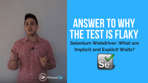selenium webdriver implicit and explicit course answers why the test is flaky