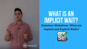 selenium webdriver course - what is an implicit wait