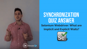 learn the answer to the synchronization quiz