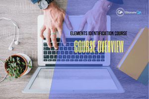 overview of the selenium webdriver elements identification course