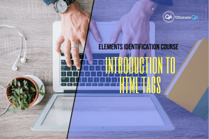 introduction to HTML tags of the elements identification course