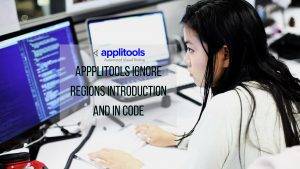 applitools introduction to ignore regions and in code