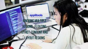 applitools ignoring multiple regions