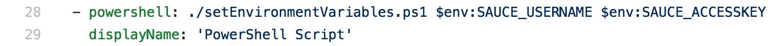 powershell to set env variables