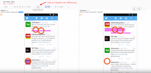 highlight page differences using applitools layout match