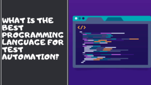 programming language for test automation