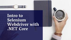 Intro to .NET Core