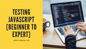 Learn testing JavaScript