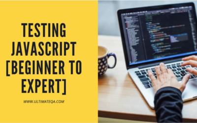 Testing JavaScript [Beginner to Expert]