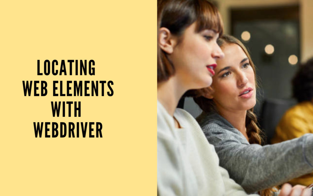 Locating Web Elements with WebDriver