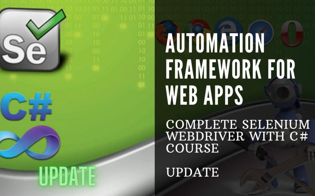 C# Automation Framework for Web Apps [Selenium, Appium, Sauce Labs, .NET]